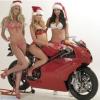 Motorrad Christmas gift basket