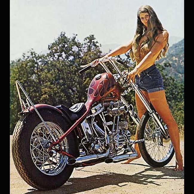 vintage motorcycle meet