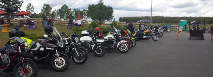 Busy Sunday at Motorrad!